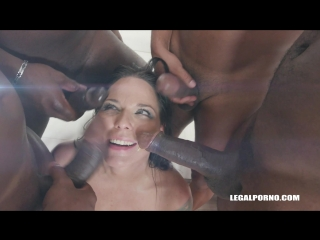 Busty bitch Simony Diamond comes to receive black cocks in all her holes IV190 (13.07.2018)