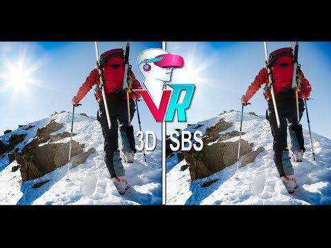 3D Extreme Sports Sky - Full HD (3D SBS VR Box)