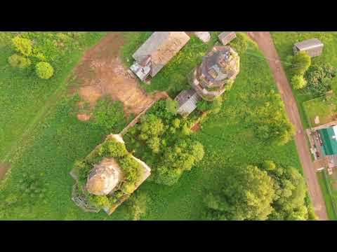 Село Пантыл и Церковь Димитрия Солунского | The village and the temple | Mavic Air