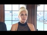 Интервью Леди Гаги и Брэдли Купера для Первого канала