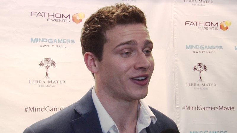 MindGamers: Exclusive Interview with Oliver Stark - Movie Premiere