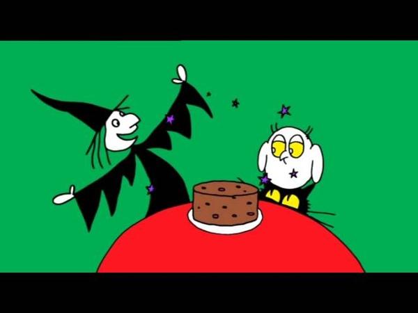 Meg and Mog Megs cake
