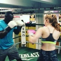 Christophe Mendy on Instagram The top Model... Alexina Graham @alexinagraham #alexinagraham #christophemendy #mendezboxing #boxe #boxeo #box...