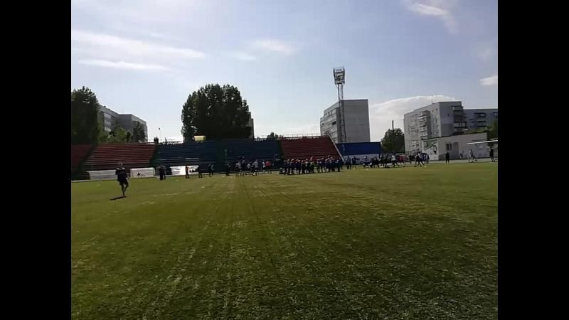Финал Университет Инза 1 й тайм 09 09 18 Ульяновск на Взлёт