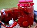 Заготовка на зиму Баклажаны и помидоры в томате