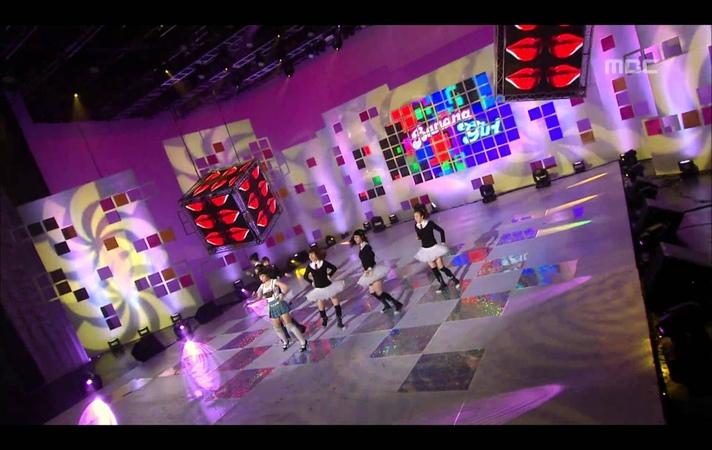 Banana Girl - Kiss Me, 바나나걸 - 키스해죠, Music Core 20081025