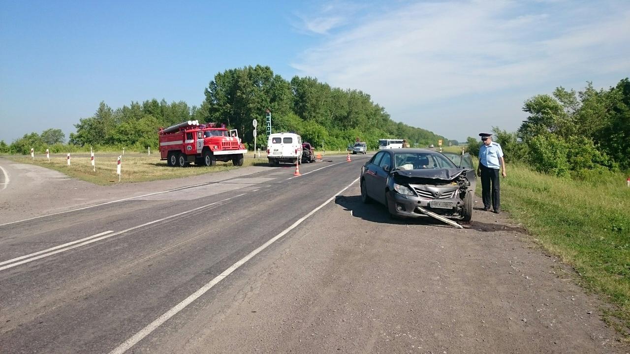 070L5lIMjFA - ДТП Старая трасса...перед поворотом на Бабанаково 2 пострадавших