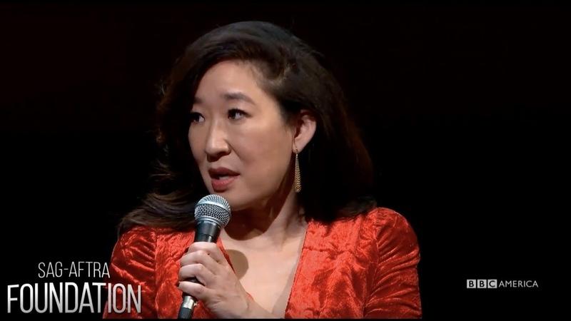 Sandra Oh Jodie Comer at SAG-AFTRA Foundation