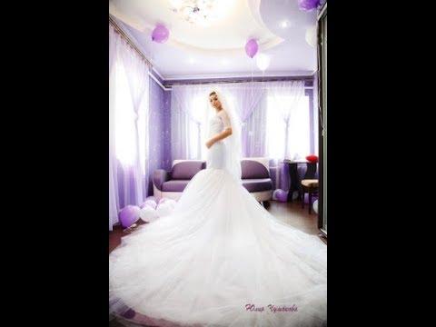 Свадебное платье фасона русалочка