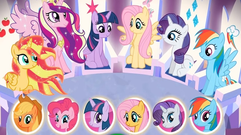My Little Pony Harmony Quest 5 Ponies Princess Rescue The Ponydom Games For Kids
