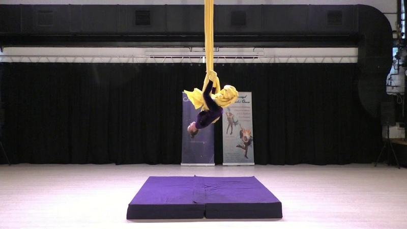 Полина Бородовицина Catwalk Dance Fest pole dance aerial 30 04 18
