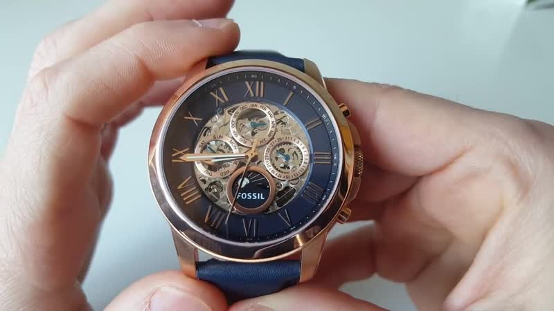 FOSSIL ME3029 Automatic. Обзор_Review