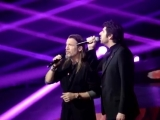 Alors on chante sidaction 2014 duo Patrick Fiori et Florent Pagny