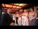 начало свадьбы ведущий Артем Бруйло организовывает встречу в кафе Прованс