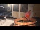 Жесть Анастасия Волочкова голая в ледяной купели