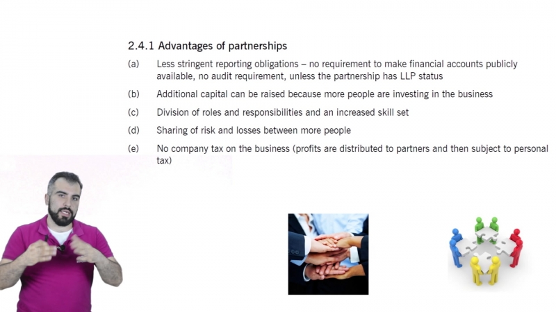 1.1 The Purpose of Financial Reporting Types Of Business Entity (Revised)