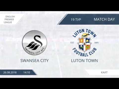 AFL18. England. Premier League. Day 19. Swansea City - Luton Town