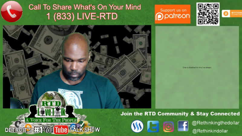 RTD Live Talk w/ Mike: What's On Your Mind Tonight? (Detroit's 1 Talk Show)
