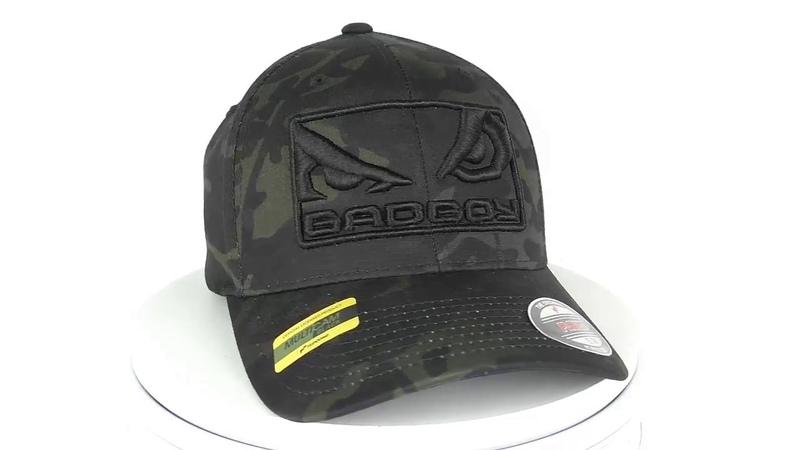 Бейсболка Bad Boy Eyes2 Cap Black Camo