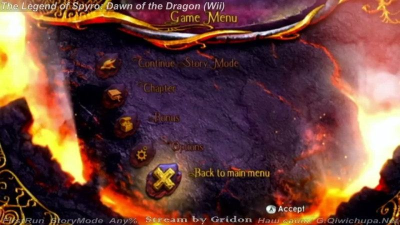 Gridon {The Legend of Spyro: Dawn of the Dragon} Wii