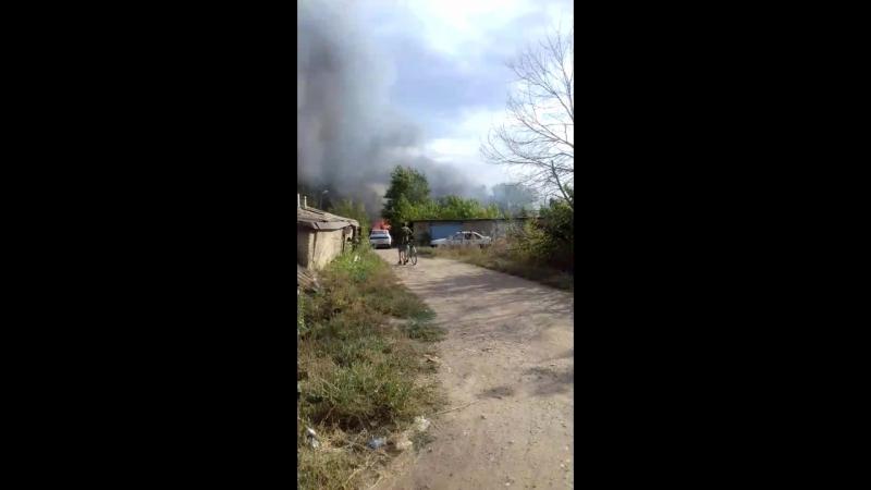 пожар в Донгузе