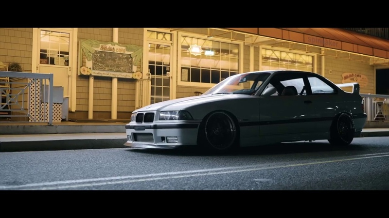 BMW E36 Turbo with Fancywide V2 Rear Diffuser from H2O.