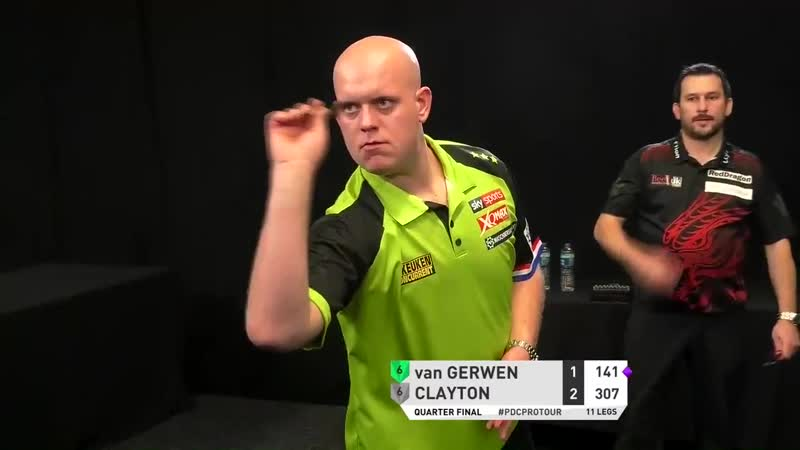 2019 PC 2 | VAN GERWEN HIT'S NINE-DARTER