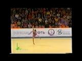 Зарина Гизикова - булавы (финал) // Гран-при Москва 2002