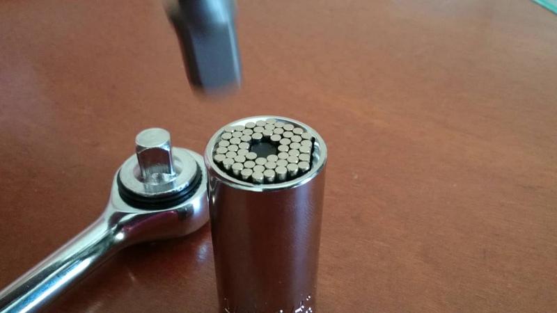 Универсальный торцевой гаечный ключ 7-19 мм Gator Grip