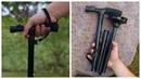 Ультралегкая складная трость Walk Stick обзор