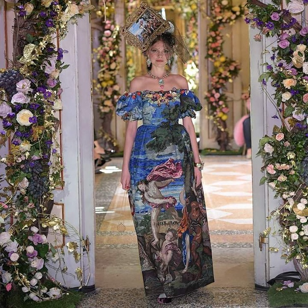 Dolce&Gabbana Alta Moda Милан, декабрь 2018