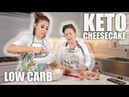 EASY KETO CHEESECAKE RECIPE COOKING WITH CRANS