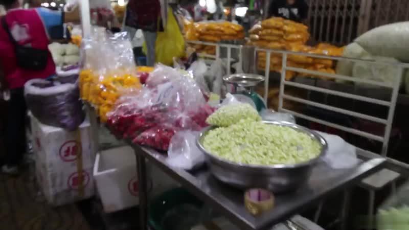 Цветочный рынок Бангкока (Pak Klong Talad)