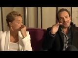 Virginie Efira et Jean Dujardin interview