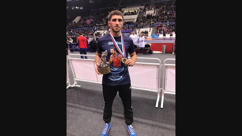 Заурбек Сидаков победитель рейтингового турнира UWW Гран при Иван Ярыгин 2019