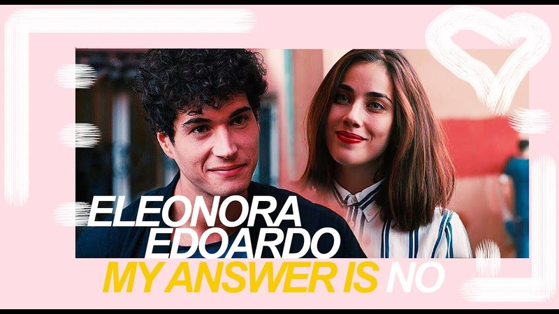 Edoardo eleonora answer is no skam italia 1x11