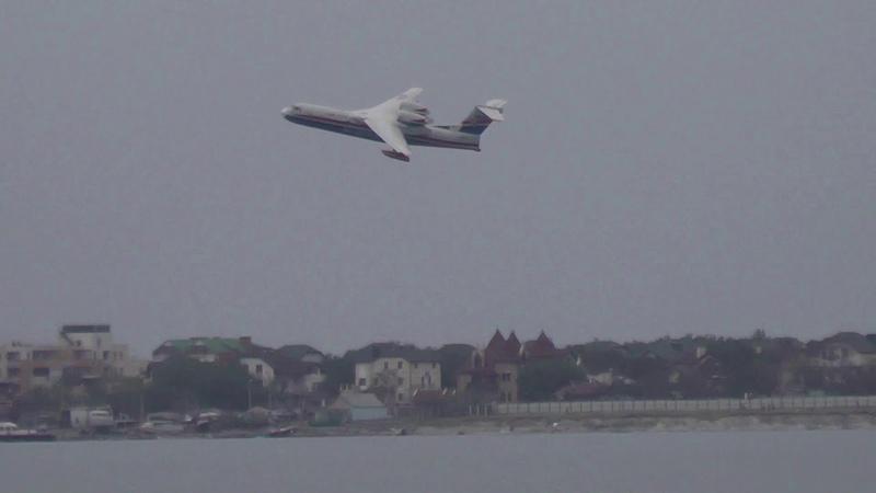 ХРОНИКИ ГЕЛЕНДЖИКА 6 сентября-Полеты гидросамолета БЕ 200.