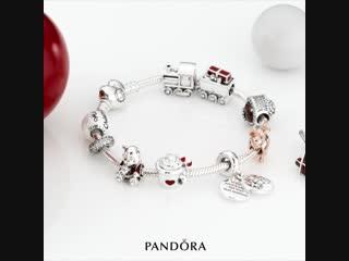 Новогодний браслет PANDORA
