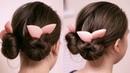 Быстрая причёска из пучков Софиста твиста Peinado Hairstyle Hair tutorial