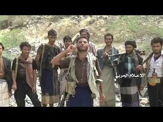 Хуситы в боях с южанами в районе Вазия, Таиз.