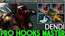 Dendi Pudge Pro Hooks Level Master Solo Mid Gameplay 7.19 Dota 2