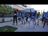 Dancehall old school routine by Olya BamBitta//Ninjaman - Jamaica Town// Get a buzz squad