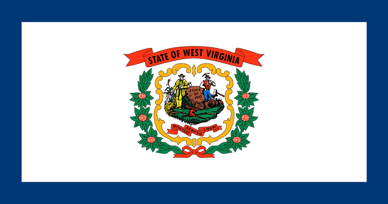 Флаг Западная Виргиния