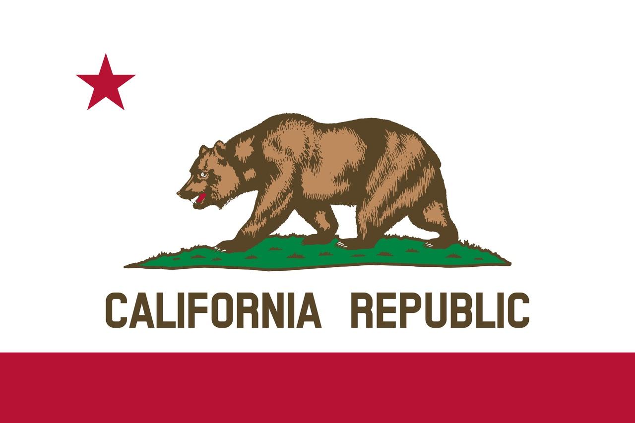 Флаг Калифорния