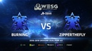 WESG Ukraine Qualifier 3 - Ro4 Match 2: BurNing (T) vs ZipperTheFly (T)