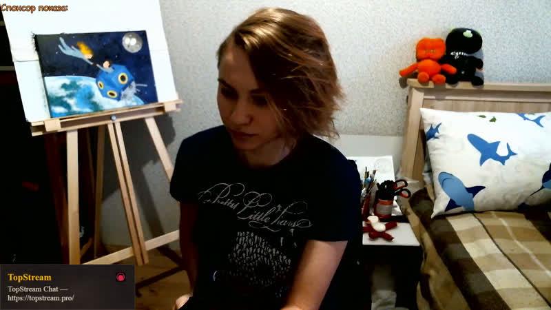 В гостях у Юленьки З *Общение Творчество Релакс Позитив ART GIRL LIVE*