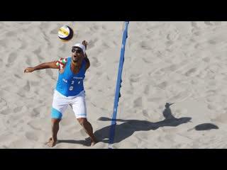 SKY BALL SERVES Crazy Volleyball Serves - Adrian Carambula (HD)