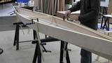 Bau eines Holzkajaks. Lektion 6 Rumpf ausrichten