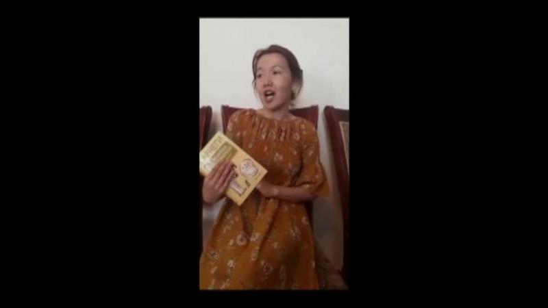 Жастар таңдайды - Молодежь предпочитает атты жобасына қатысушы Балтабай Балжан жастарды кітап оқуға шақырады