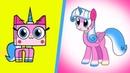 Unikitty Characters As My Little Pony